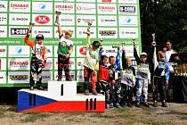 Celkové vyhlášení Českého poháru BMX v Praze