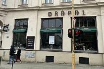 Restaurace Drápal v Olomouci, únor 2021
