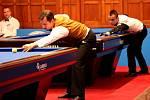 Světové špičky karambolového kulečníku se sešli v Olomouci, přijeli na mezinárodní turnaj mistrů pod názvem Anag Billiard Cup.