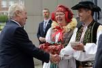 Prezident na návštěvě Olomouckého kraje - Olomouc, 18. května 2016