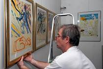 Exponáty poskytla Galerie Artco–France, která zaručila pravost Dalího plastik a grafických listů.