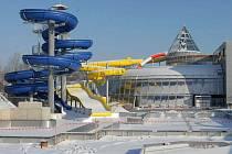 Stavba olomouckého aquaparku