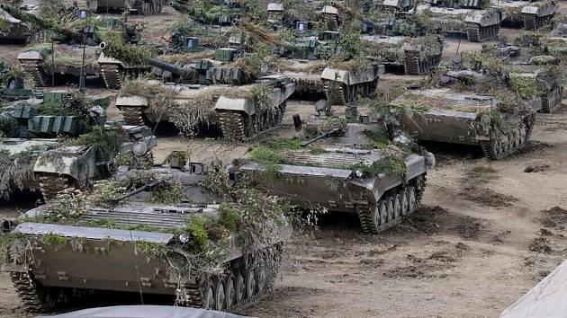 Mezinárodního cvičení států V4 Czech Lion 2019 se zúčastnilo 992 vojáků s osmi desítkami kusů vojenské techniky.