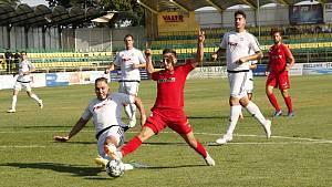 Fotbalisté HFK Olomouc prohráli se Zbrojovkou Brno