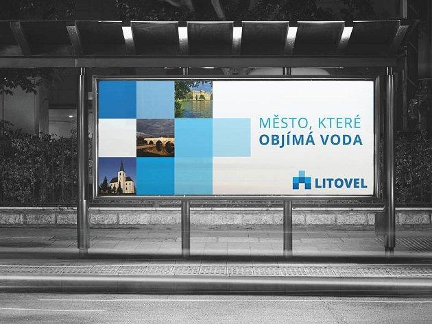 Vizualizace použití nového loga města Litovel
