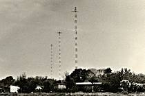 Vysílač u Litovle byl na žádost vedení SSSR využit pro rušení rádia Svobodná Evropa. Archivní snímek