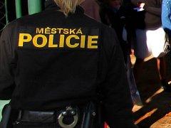 Městská policie Olomouc. Ilustrační foto