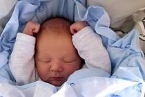 Alexandr Božidar Valouch, Kojetín, narozen 17. dubna 2020 v Přerově, míra 49 cm, váha 3514 g