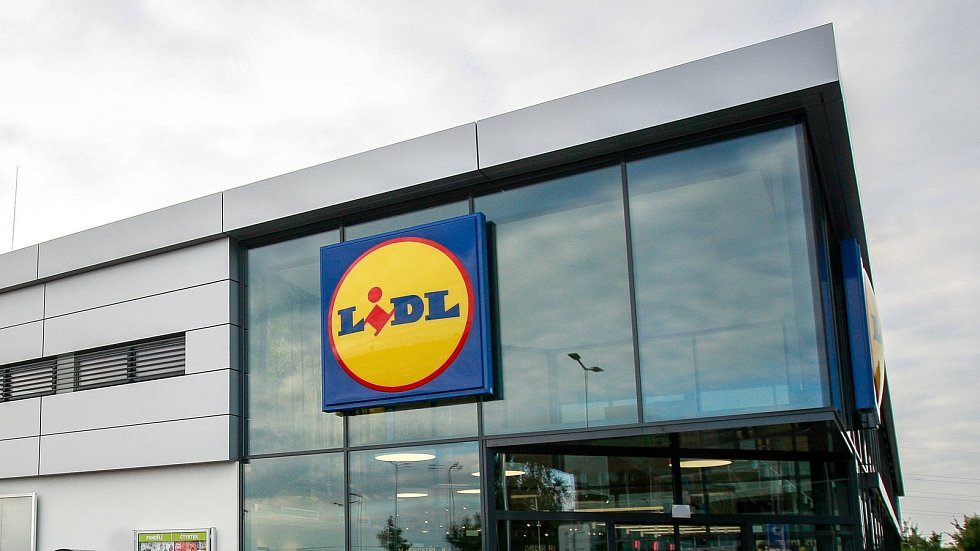 Supermarket Lidl. Ilustrační foto