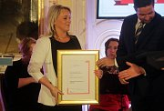 Ceny cestovního ruchu Olomouckého kraje 2017 udělované v Arcibiskupském paláci