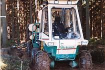 Lesní tahač Log Lander