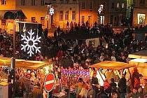 Vánoční náměstí ve Šternberku