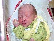 Eliška Vašíčková, Mohelnice, narozena 29. dubna ve Šternberku, míra 46 cm, váha 2610 g