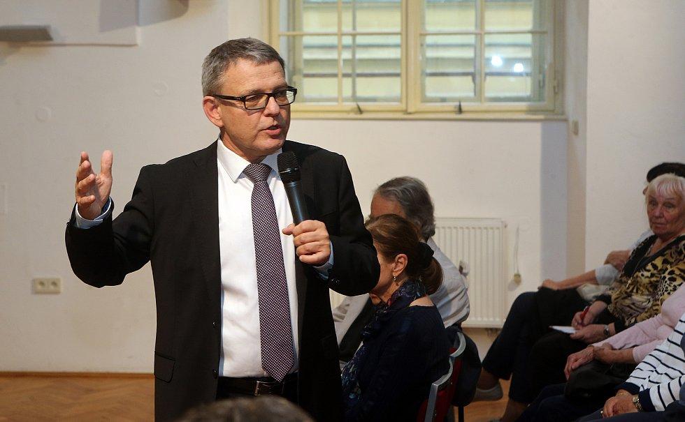 Ministr Lubomír Zaorálek v Olomouci.