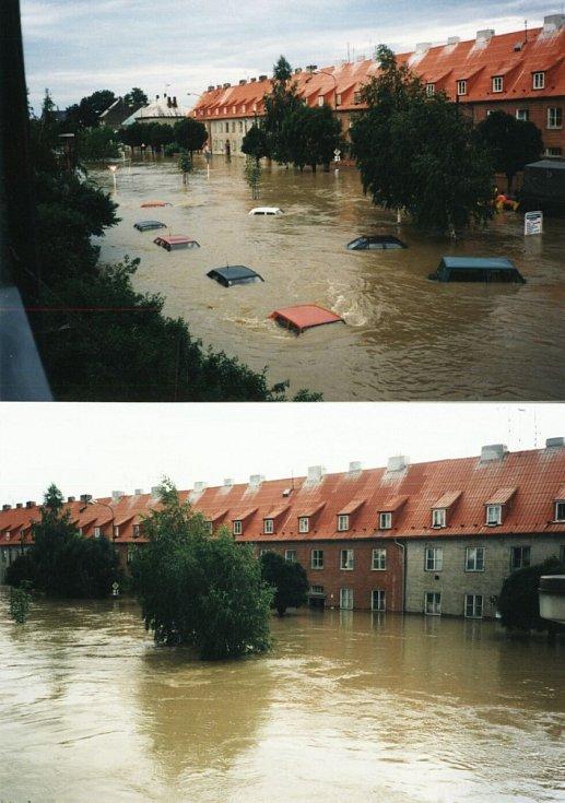 1. den olomoucké potopy - kulminace