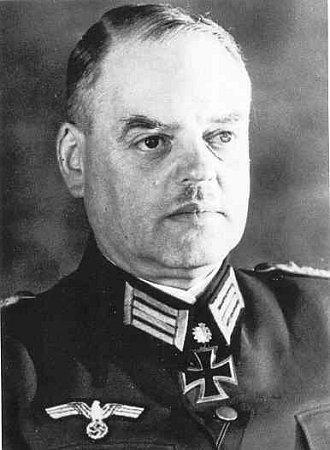 Generálmajor wehrmachtu Dietrich von Müller