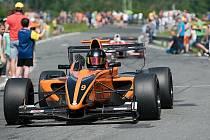 Závod mistrovství Evropy automobilů do vrchu na legendární trati Ecce Homo ve Šternberku. 2019