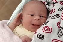 Linda Bdinková, Přerov, narozena 11. srpna 2020 v Přerově, míra 48 cm, váha 3210 g