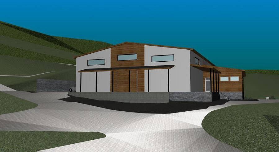 Vizualizace Parku sportu v Hrubé Vodě - hippocentrum
