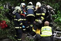 Tragická nehoda na R35 u Dolního Újezdu