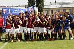 Akademie Cup, turnaj O pohár Karla Poborského v kategorii hráčů do 15 let v Olomouci. Vítězný tým Sparta Praha.