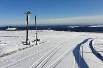 Sníh na Pradědu 13. listopadu 2019