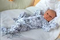 Vojtěch Grunt, Olomouc, narozen 21. prosince 2017 v Olomouci, míra 50 cm, váha 3370 g