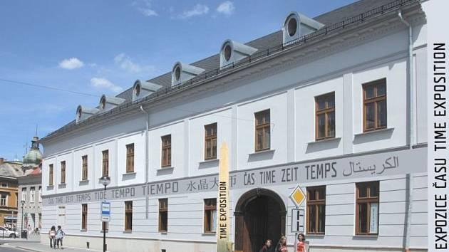Vizualizace Expozice času ve Šternberku