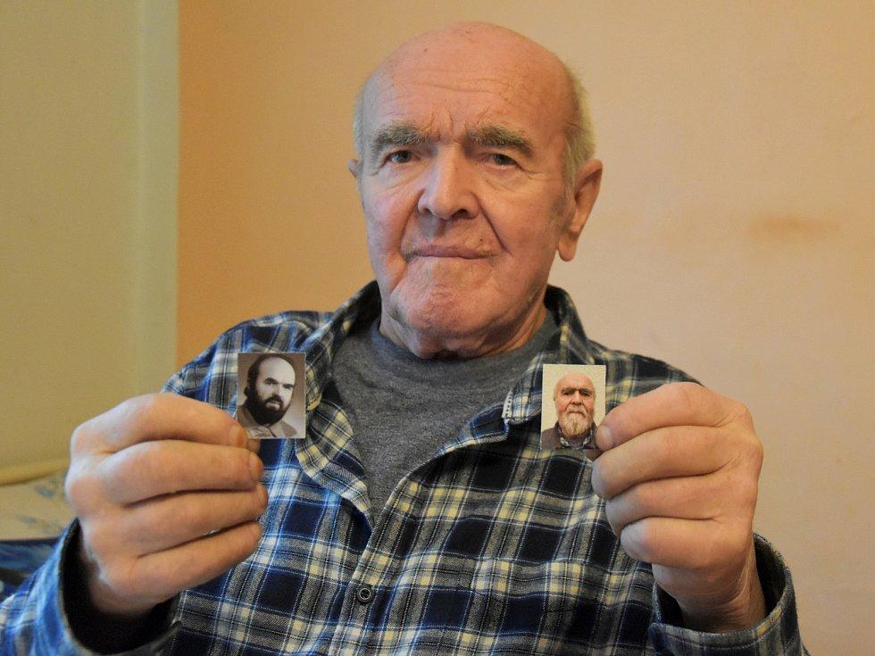 Karel Černý z Hlinska v 81 letech přežil těžký průběh koronaviru, 30. 12. 2020