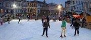 Bruslení na Dolním náměstí v Olomouci