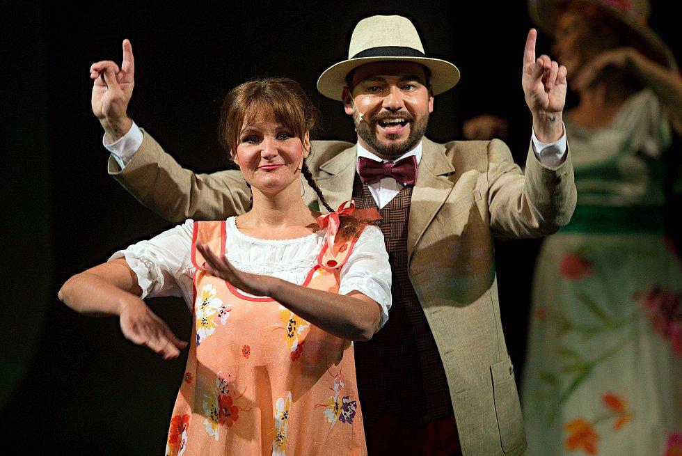 Moravské divadlo Olomouc - lidová opereta Na tý louce zelený