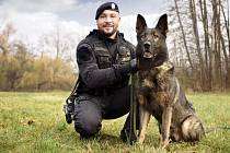 Policejní psovod. Ilustrační foto