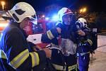 Noční evakuaci zažila více než stovka hostů hotelu na Jeremenkově ulici v Olomouci.