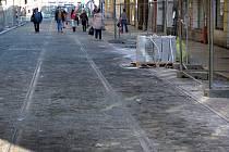 Rekonstrukce třídy 1. máje v Olomouci