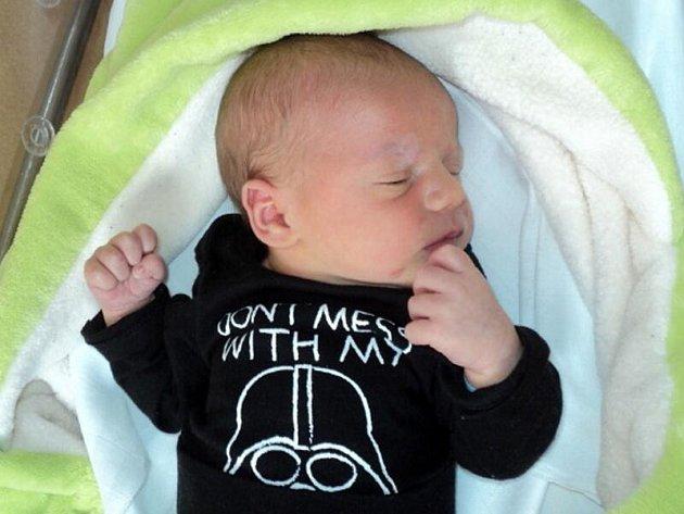 Dominik Jančík, Olomouc, narozen 1. února, míra 48 cm, váha 3470 g
