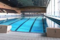 Krytý bazén na olomouckém Plaveckém stadionu