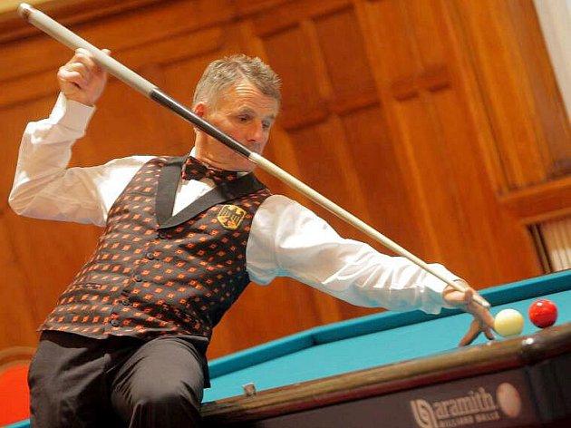 Anag Billiard Cup v Olomouci: mistr světa Wolfgang Zenkner
