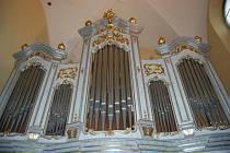 Oprava varhan v litovelském kostele sv. Marka