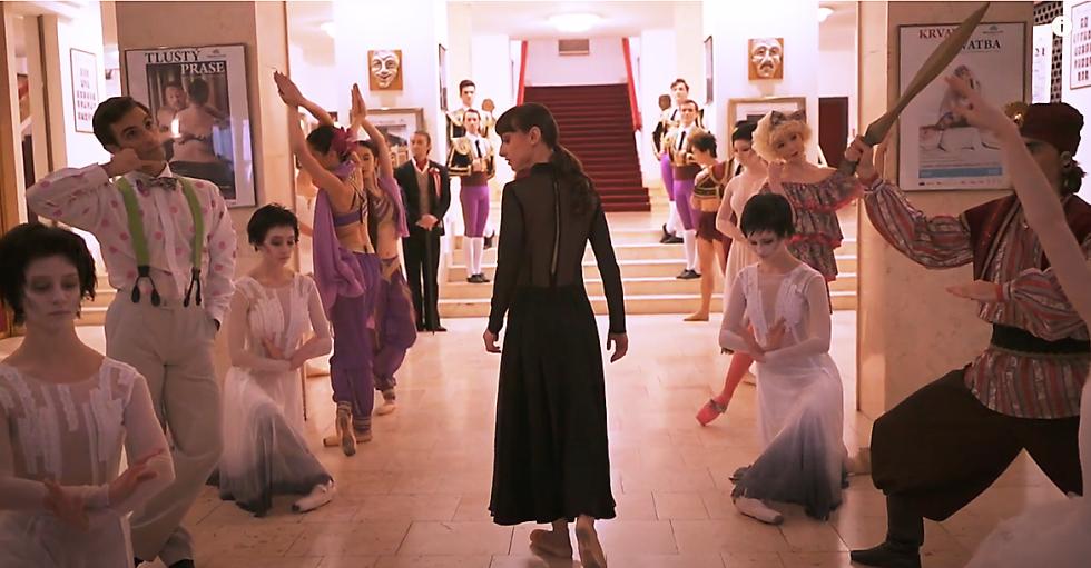 Pozvánka baletu Moravského divadla Olomouc