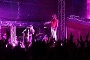 Koncert skupiny Billy Talent na Korunní pevnůstce v Olomouci