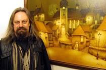 Ondřej Kočár vystavuje v Olomouci.
