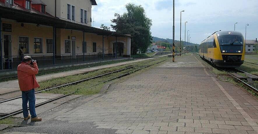RegioJet na trati Olomouc - Šternberk - Uničov