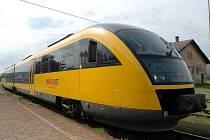 Žlutý vlak RegioJet