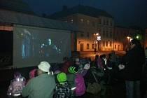 Silvestrovský program na Hlavním náměstí ve Šternberku