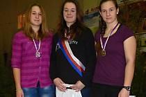 Pět medailí na mistrovství republiky v jízdě na veslařském trenažéru v Ústí nad Labem získali olomoučtí závodníci.