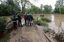 Blesková povodeň na Litovelsku - Bílá Lhota – Arboretum