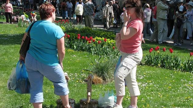 Jarní Flora Olomouc
