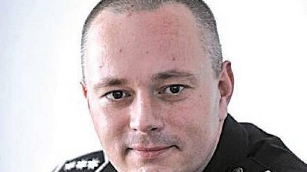 Karel Kadlec ještě jako náměstek ředitele olomoucké krajské policie