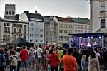 Koncert Františka Nedvěda na Horním náměstí v Olomouci 9. července 2021 na úvod festivalu Pohoda u Trojice
