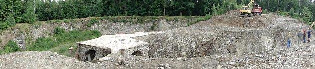 Rekonstrukce části pevnůstky vOlomouci-Radíkově